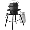 Camp Chef Single Cast Iron Burner for Convection Roasting