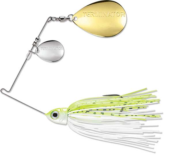 Terminator Pro Series Spinnerbait Double Colorado - NEW IN SPINNERBAITS