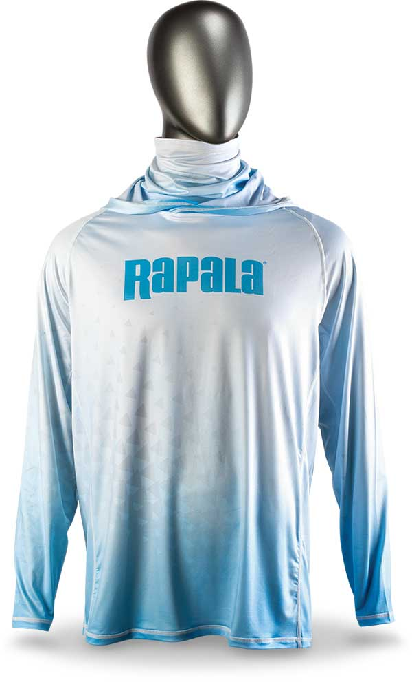 Rapala Performance Hoodie with Neck Gaiter - NOW AVAILABLE