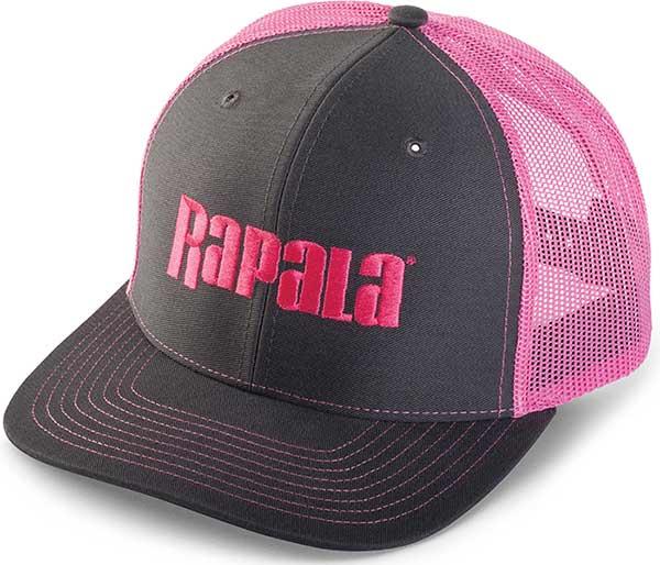 Rapala Ladies Trucker Cap - Center Logo - NEW APPAREL