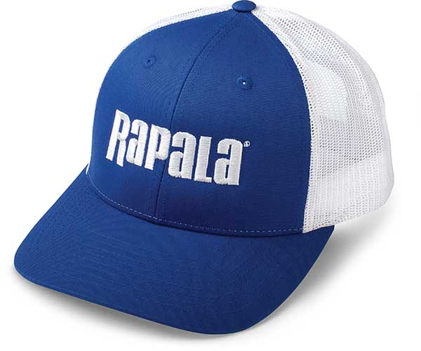 Rapala Snapback Trucker Cap Low Profile - Center Logo - NEW IN APPAREL