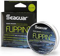 Seaguar Flippin' Fluoro Fluorocarbon Line - NEW LINE