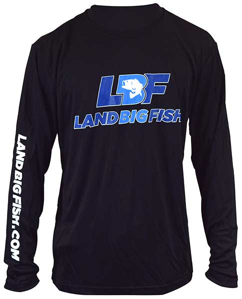 Land Big Fish Competitor Long Sleeve T-Shirt - NEW APPAREL