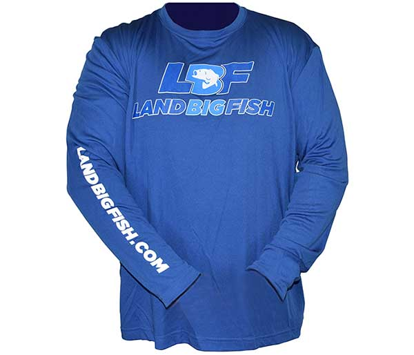 Land Big Fish Sport-Tek Competitor Long Sleeve T-Shirt - NEW COLOR
