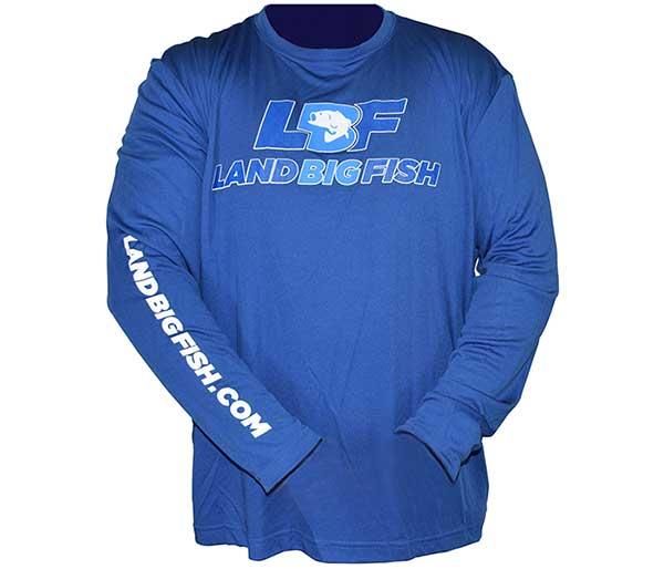 Land Big Fish Sport-Tek Competitor Long Sleeve T-Shirt - NEW COLOR