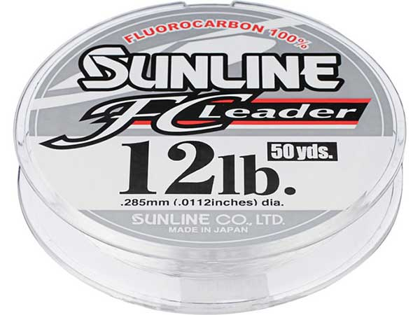 Sunline FC Leader Fluorocarbon Line - MORE SIZES