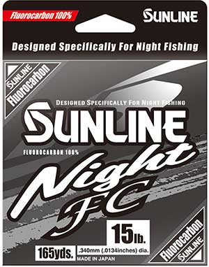 Sunline Night FC Fluorocarbon Line - NEW FISHING LINE