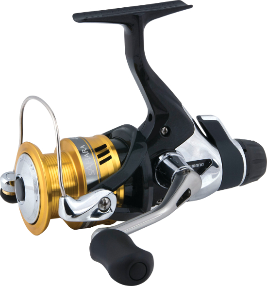 Shimano Sahara R Rear Drag Spinning Reel - FULL SELECTION