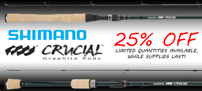 Shimano Crucial Bass Graphite Rods Sale!