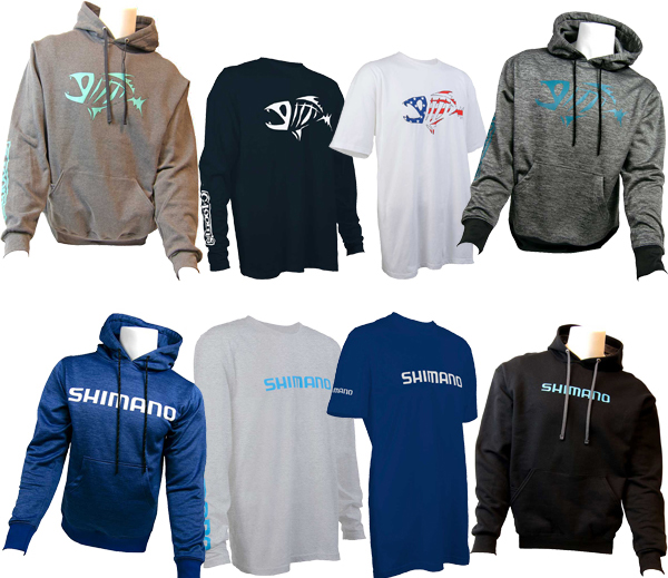 Shimano & G.Loomis Apparel - 30% OFF