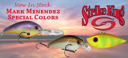 Strike King - NEW Mark Menendez Special Colors!