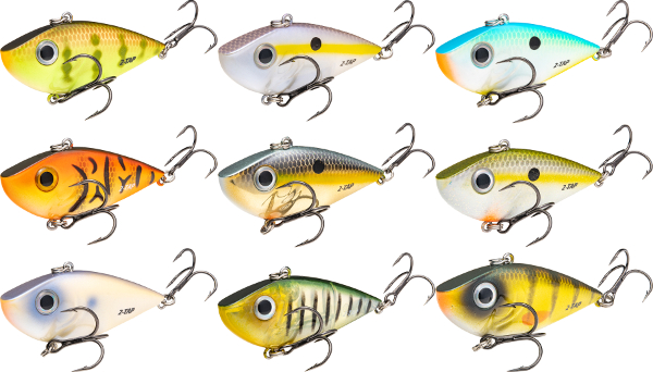 Strike King Red Eyed Shad Tungsten 2-Tap - NEW COLORS