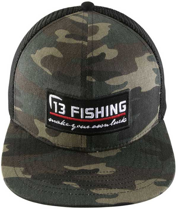 13 Fishing Brochacho Trucker Snapback Hat - NOW STOCKING