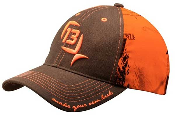 13 Fishing Ditch Chicken Realtree Blaze Snapback Ballcap - NOW IN STOCK