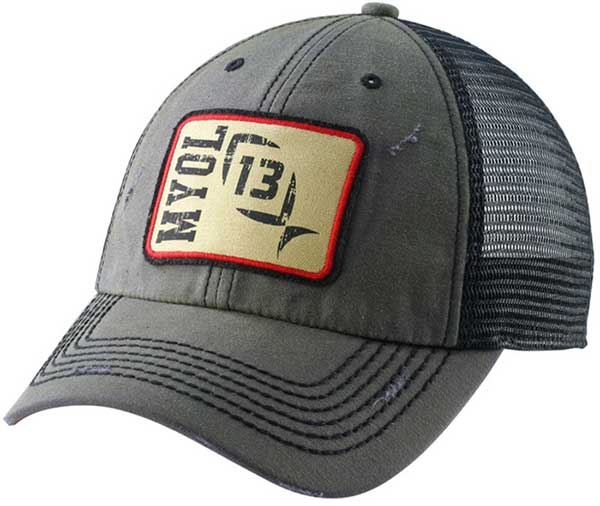 13 Fishing Guy On A Buffalo Snapback Hat - NOW IN STOCK