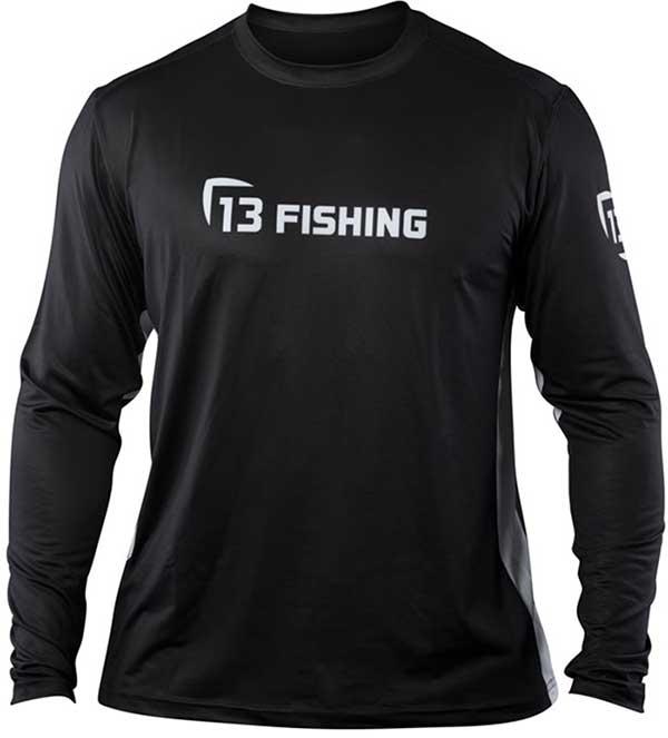 13 Fishing Man-Tooth Performance Long Sleeve Shirt - NOW STOCKING