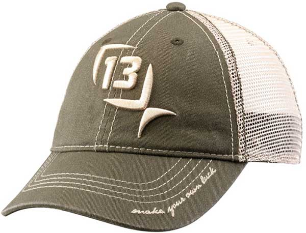 13 Fishing Mr. Sullivan Olive Snapback Hat - NOW IN STOCK