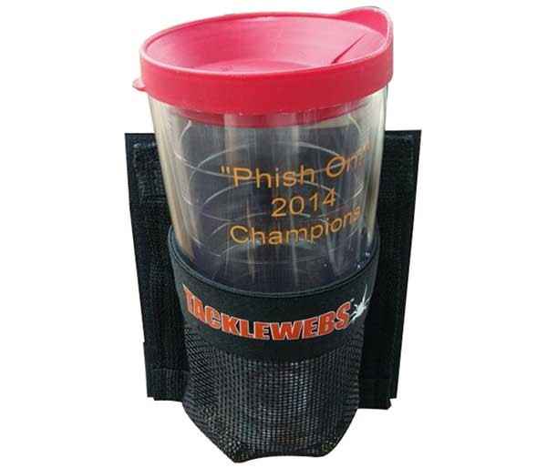 TackleWebs Hook & Loop Adhesive V Series Cup Holder - NOW STOCKING