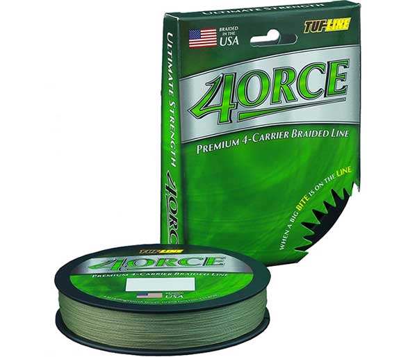 Tuf-Line 4orce Braided Line - NOW IN STOCK