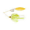 Gold Frame Hammered Tandem Willow Spinnerbait
