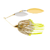 Gold Frame Double Willow Spinnerbait