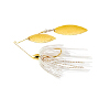 Gold Frame Hammered Double Willow Spinnerbait