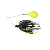 Night Time Painted Head Single Colorado Spinnerbait