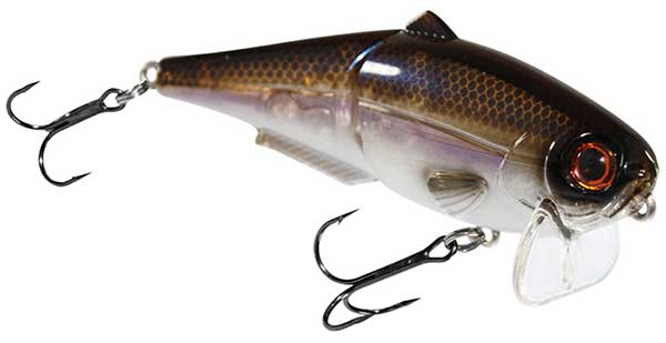Strike King Wake Shad - NEW SPECIAL COLORS!
