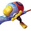 Zebco Floating Spongebob Youth Flatboard Combo