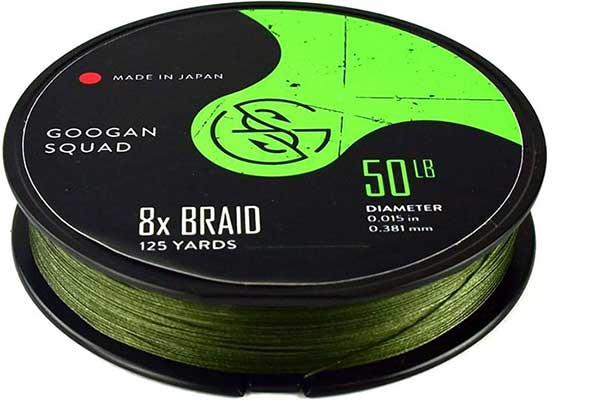 Googan Squad 8x Braided Line - NOW AVAILABLE