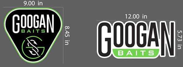 Googan Baits Boat Carpet Decal - NOW AVAILABLE