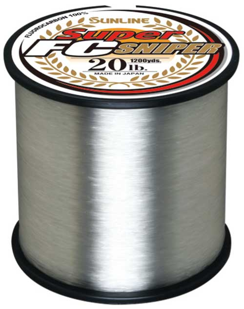 Sunline Super FC Sniper Fluorocarbon Line - MORE BULK SIZES