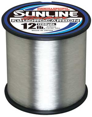Sunline Super Fluorocarbon Line - MORE BULK SIZES