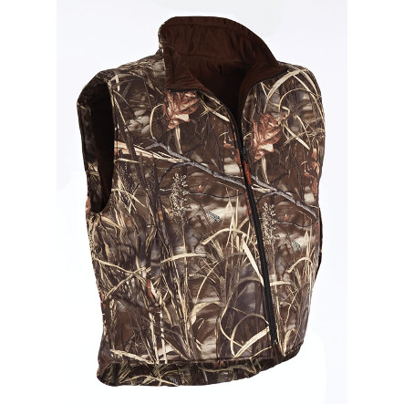 ArcticShield Reversible Waterfowl Vest Realtree Max 4