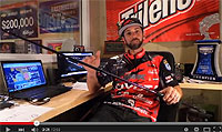 Abu Garcia IKE Signature Power Series Casting Rods Video