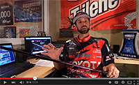Abu Garcia IKE Signature Delay Series Casting Rods Video