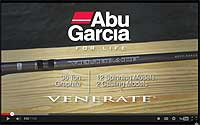 Venerate Spinning Series Rods