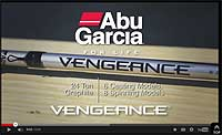 Abu Garcia Vengeance Series Spinning Rods Video