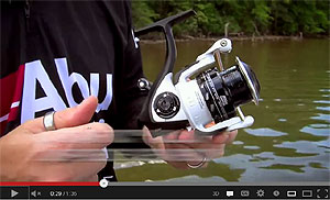 Abu Garcia Revo S Spinning Reel Video