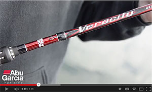 Abu Garcia Veracity Casting Rods Video