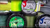 Daiwa Samurai Braid Line Video