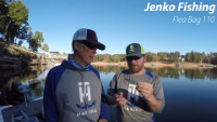Jenko Fishing Flea Bag 110 Walking Bait Video