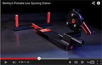 Berkley Portable Line Spooling Station  Video