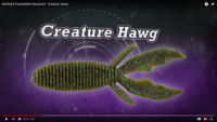 Berkley PowerBait MaxScent Creature Hawg Video