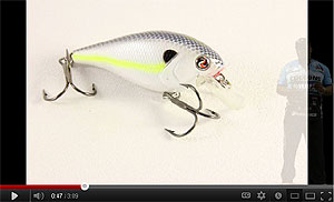 River2Sea Biggie Squarebill Crankbait Series Video