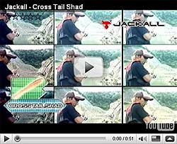 Jackall Cross Tail Shad Video
