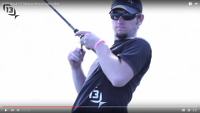 13 Fishing Envy Black Casting Rods Video