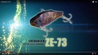 Evergreen ZE-73 Lipless Crankbait Video