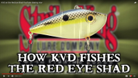 Strike King Red Eyed Shad Lipless Crankbait Video