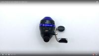 Lew's American Hero Metal Cone Spincast Reel Video